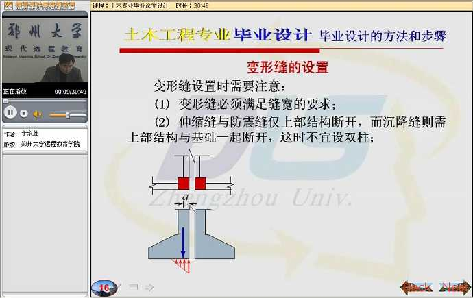 土木工程毕业论文设计视频教程
