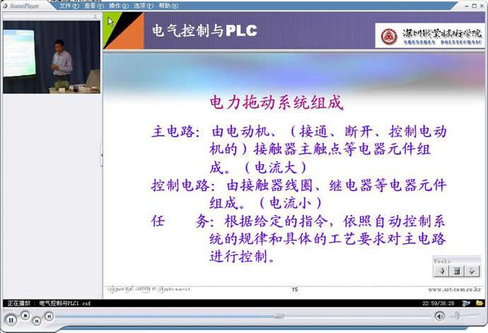 plc裁判电路图
